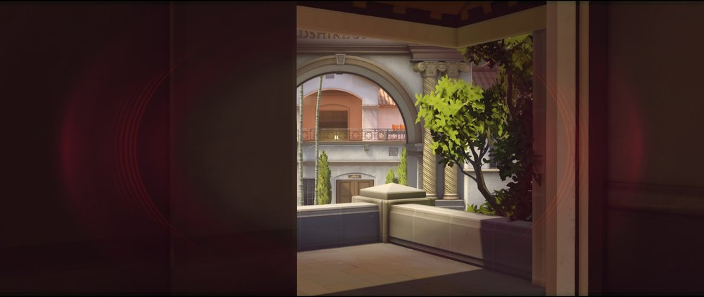 Hotel top view offense Widowmaker sniping spots Hollywood Overwatch.jpg