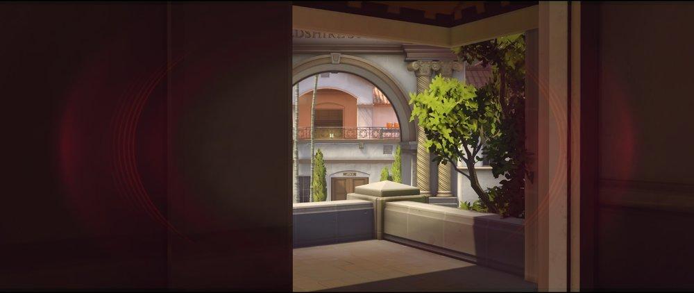Hotel top view offense Widowmaker sniping spots Hollywood Overwatch.jpg