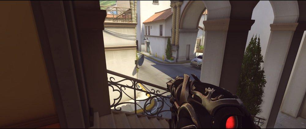Stairs offense Widowmaker sniping spots Hollywood Overwatch.jpg