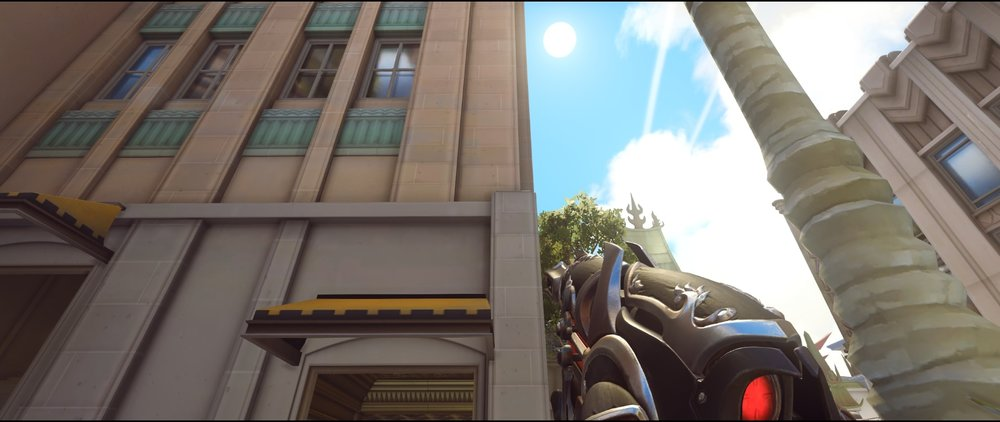 Hotel side defense Widowmaker sniping spots Hollywood Overwatch.jpg