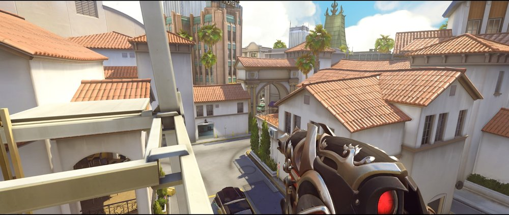 Tower vision defense Widowmaker sniping spots Hollywood Overwatch.jpg