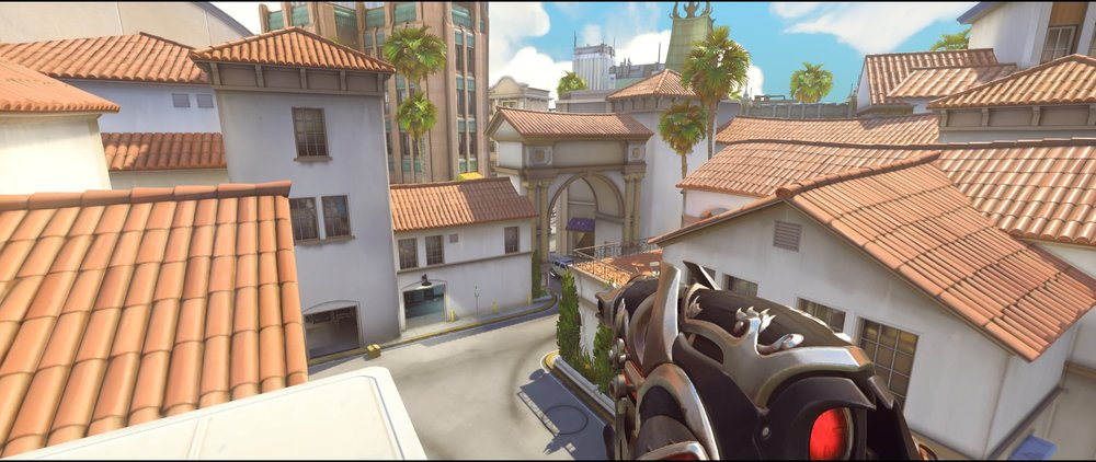 Tower second vision defense Widowmaker sniping spots Hollywood Overwatch.jpg