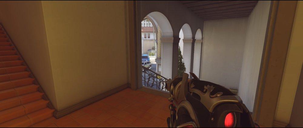 Stairs defense Widowmaker sniping spots Hollywood Overwatch.jpg