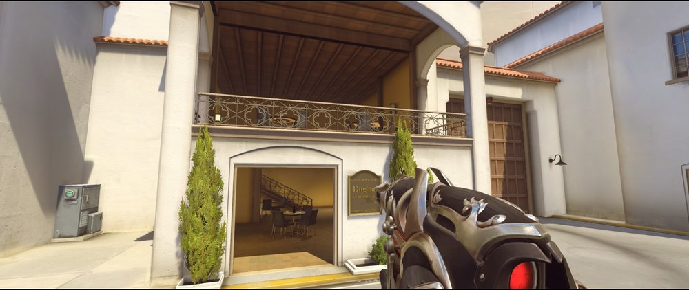 Cafe defense Widowmaker sniping spots Hollywood Overwatch.jpg