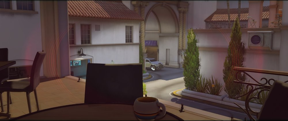 Cafe view defense Widowmaker sniping spots Hollywood Overwatch.jpg