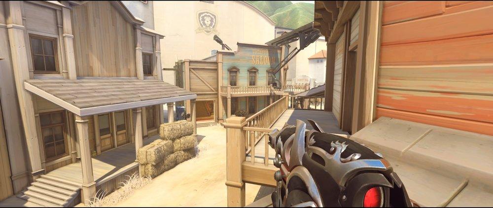 First roof offense Widowmaker sniping spots Hollywood Overwatch.jpg
