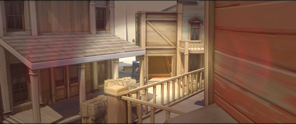 First roof vision offense Widowmaker sniping spots Hollywood Overwatch.jpg