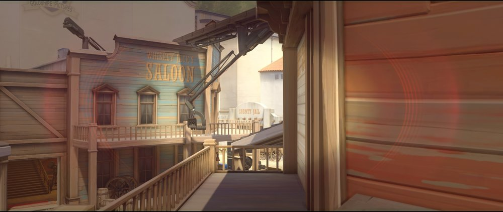 First roof vision to jail offense Widowmaker sniping spots Hollywood Overwatch.jpg
