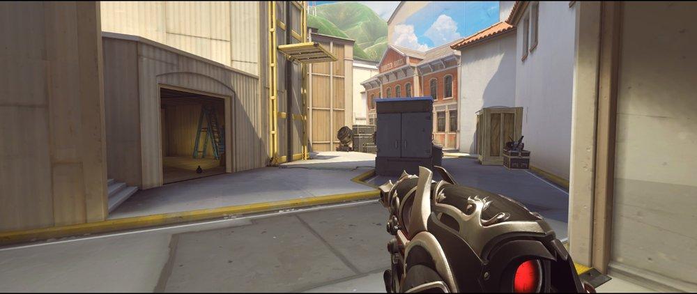 Alley offense Widowmaker sniping spots Hollywood Overwatch.jpg
