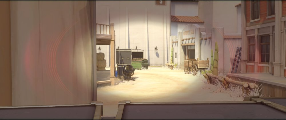 Alley vision from boxes offense Widowmaker sniping spots Hollywood Overwatch.jpg