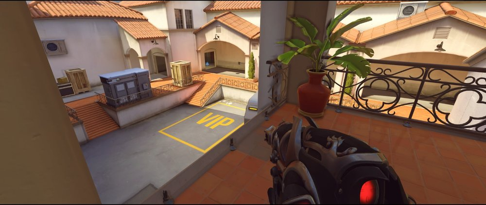 Bridge view attack Widowmaker sniping spot Hollywood Overwatch.jpg