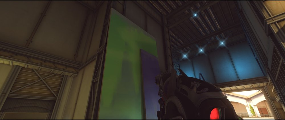 Main side third point attack Widowmaker sniping spot Hollywood Overwatch.jpg