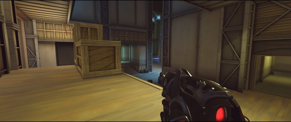 Long third point defense Widowmaker sniping spot Hollywood Overwatch.jpg
