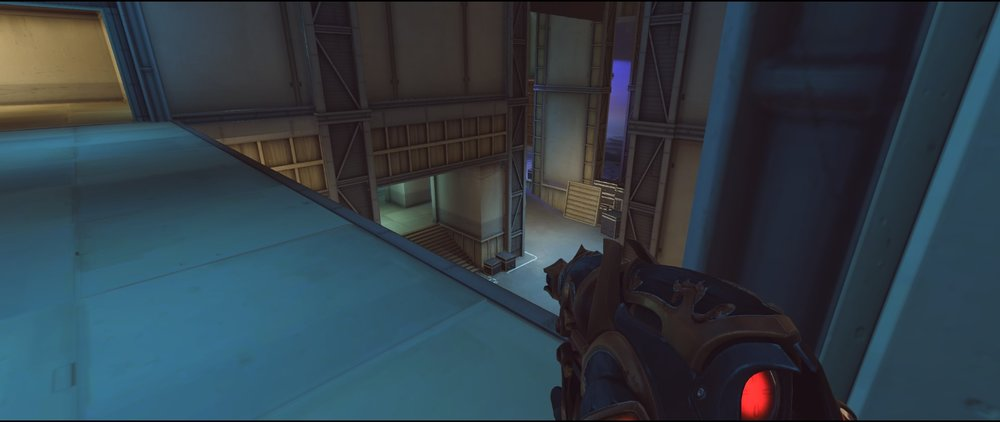 Bridge defense Widowmaker sniping spot Hollywood Overwatch.jpg