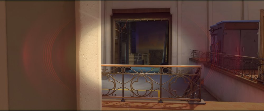 Pillar view defense Widowmaker sniping spot Hollywood Overwatch.jpg