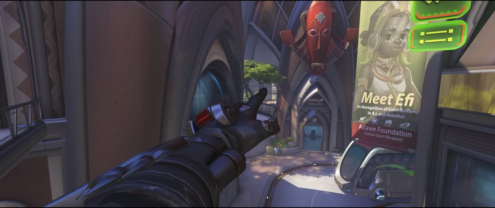 Spawn kill escape defense Widowmaker sniping spot Numbany Overwatch.jpg