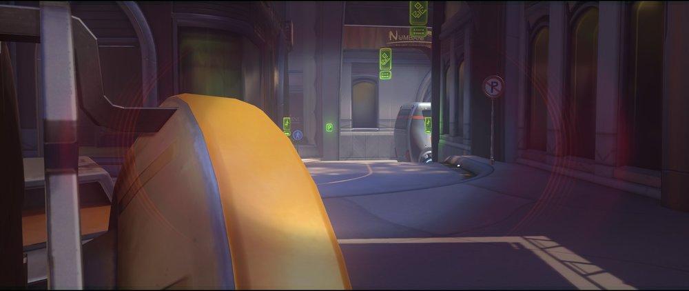 Car first point defense Widowmaker sniping spot Numbani Overwatch.jpg