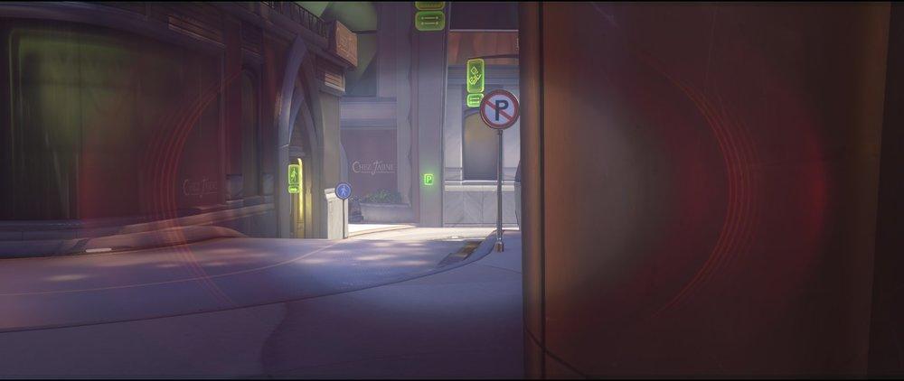 Door first point defense Widowmaker sniping spot Numbani Overwatch.jpg