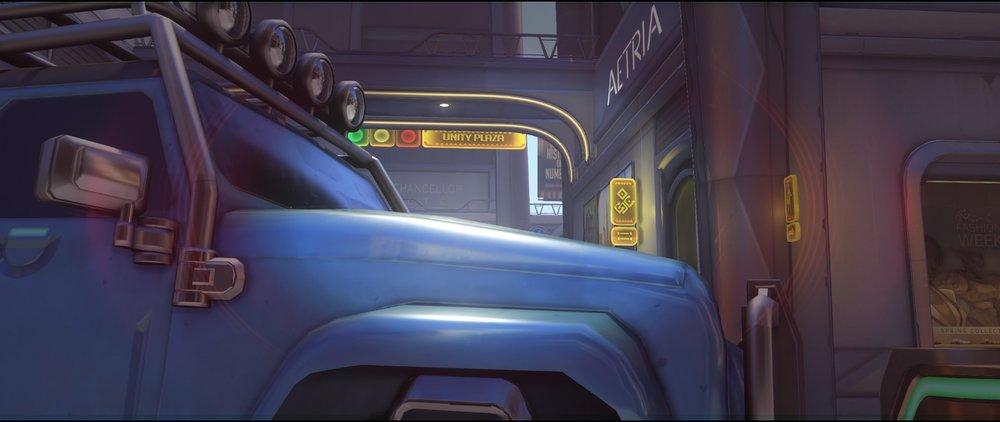 Blue car crouched defense Widowmaker sniping spot Numbani Overwatch.jpg