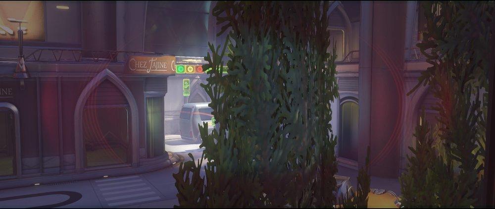 High ground tree defense Widowmaker sniping spot Numbani Overwatch.jpg