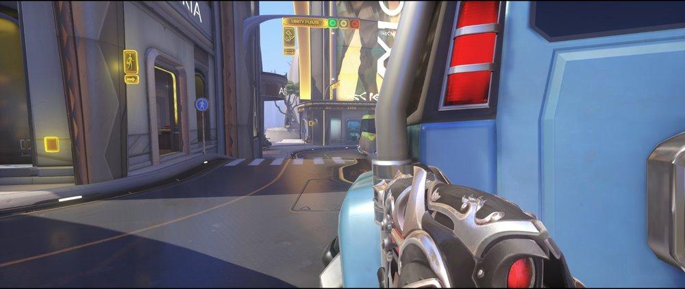 Blue car attack Widowmaker sniping spot Numbani Overwatch.jpg