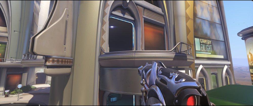 Bus high ground defense Widowmaker sniping spot Numbani Overwatch.jpg