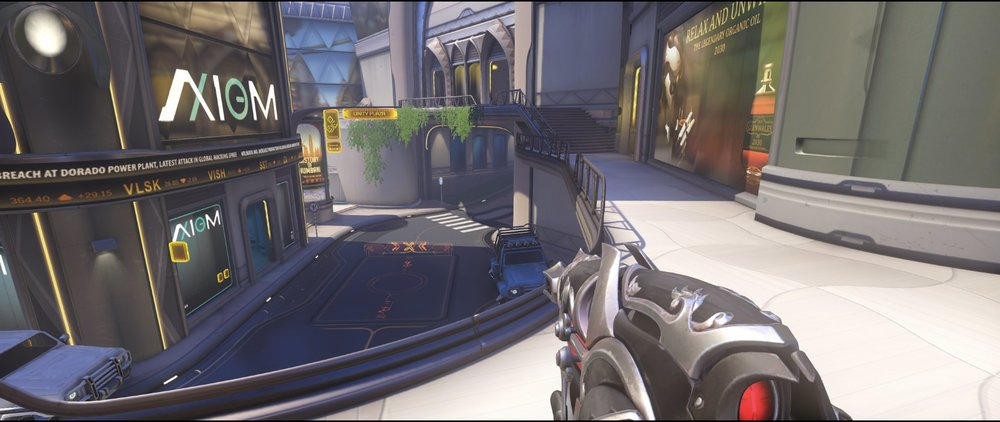 High ground extension second point attack Widowmaker sniping spot Numbani Overwatch.jpg