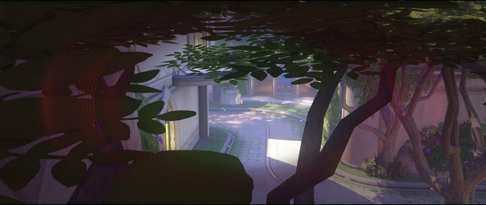View side defense tree third point Widowmaker sniping spot Numbani Overwatch.jpg