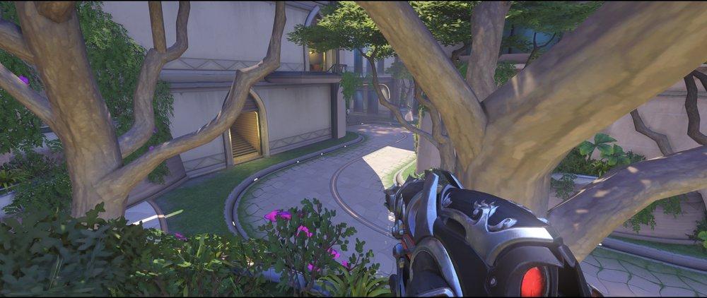 Mid defense standard third point Widowmaker sniping spot Numbani Overwatch.jpg
