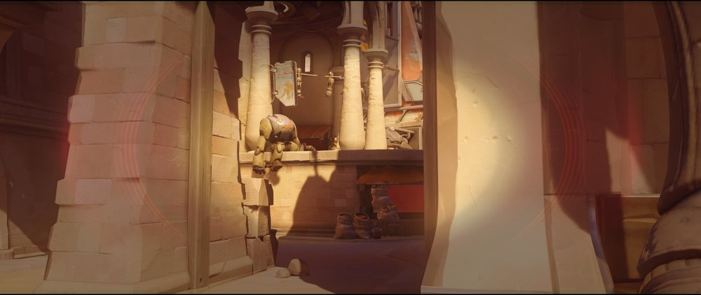 Gate right side attack Widowmaker sniping spot Temple of Anubis Overwatch.jpg