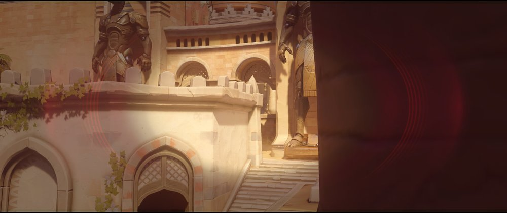 First statue attack Widowmaker sniping spot Temple of Anubis Overwatch.jpg