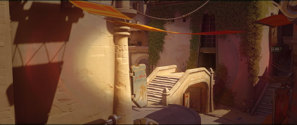 Long first high ground snipe view attack Widowmaker sniping spot Temple of Anubis Overwatch.jpg