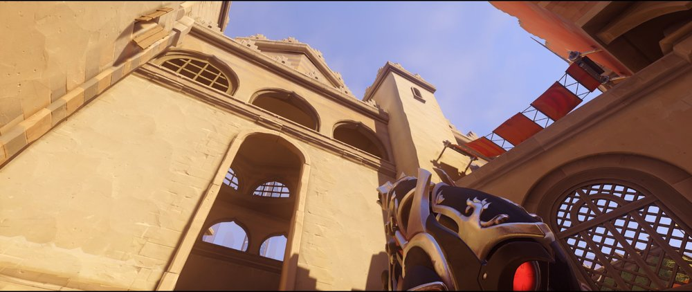 Long arcs attack Widowmaker sniping spot Temple of Anubis Overwatch.jpg