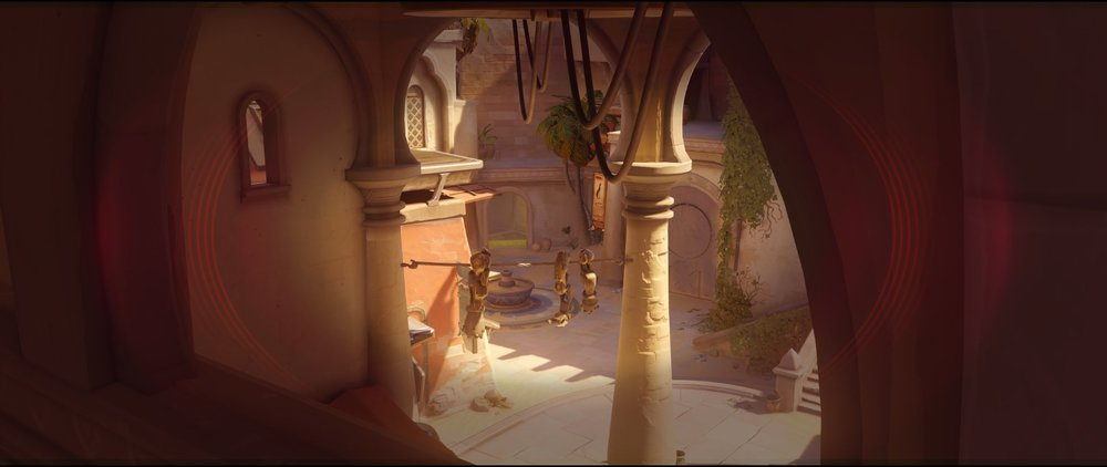 Long arc main view attack Widowmaker sniping spot Temple of Anubis Overwatch.jpg