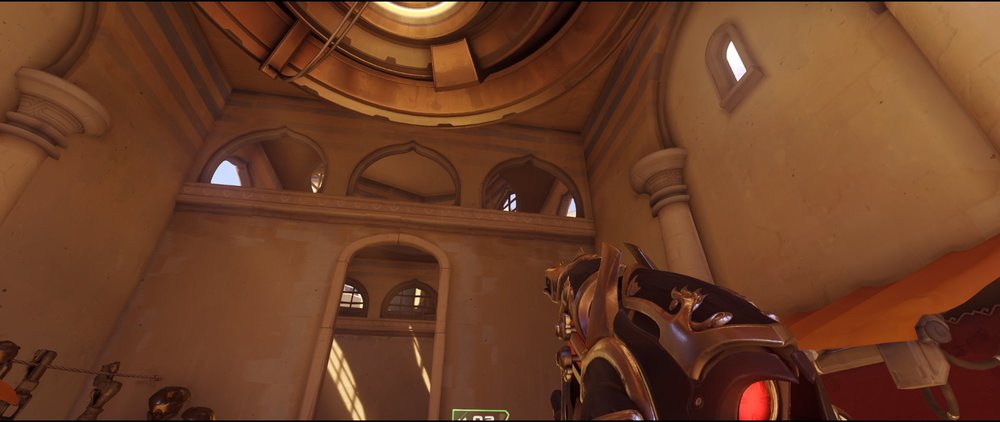 Long defense Widowmaker sniping spot Temple of Anubis Overwatch.jpg