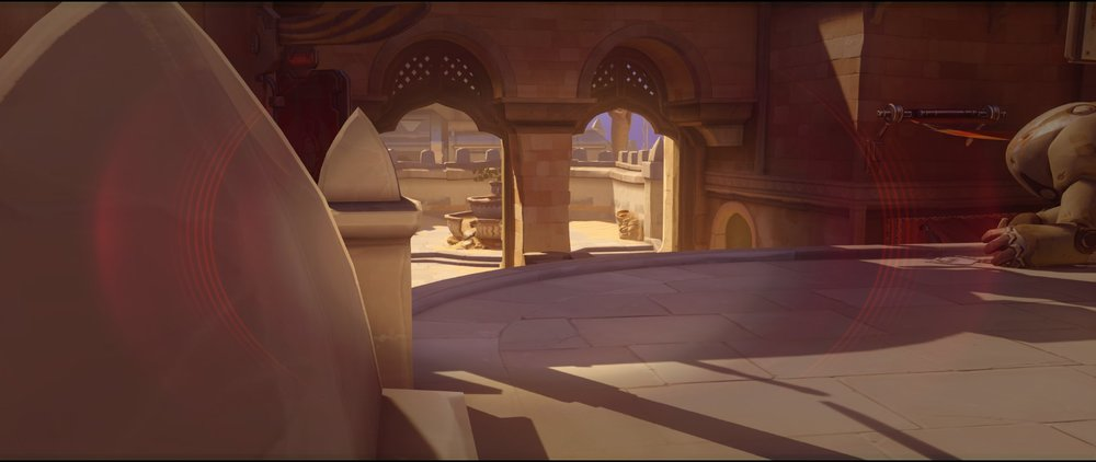 Platform left defense Widowmaker sniping spot Temple of Anubis Overwatch.jpg