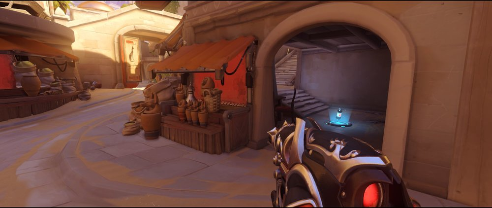 Short attack Widowmaker sniping spot Temple of Anubis Overwatch.jpg