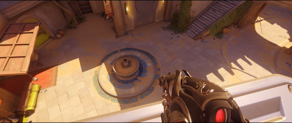 Nest to point attack Widowmaker sniping spot Temple of Anubis Overwatch.jpg