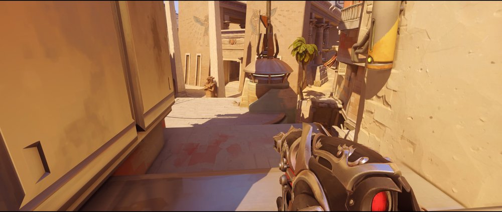 Nest to spawn Widowmaker sniping spot Temple of Anubis Overwatch.jpg