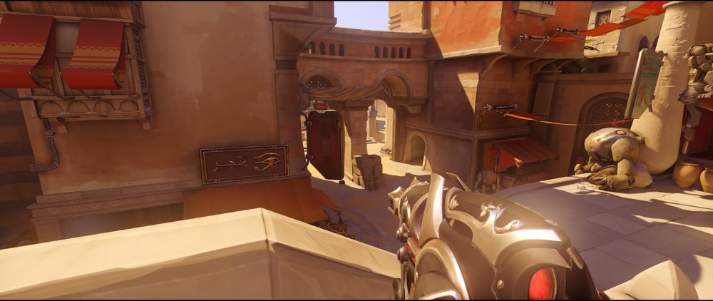 bridge defense Widowmaker sniping spot Temple of Anubis Overwatch.jpg