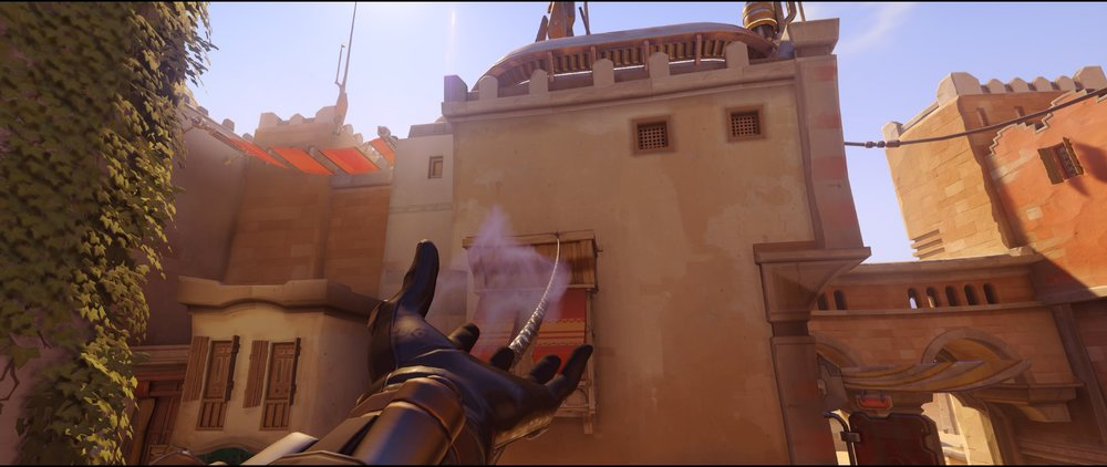 High ground short defense Widowmaker sniping spot Temple of Anubis Overwatch.jpg