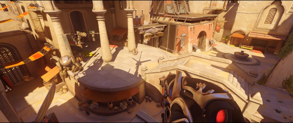 High ground short view defense Widowmaker sniping spot Temple of Anubis Overwatch.jpg
