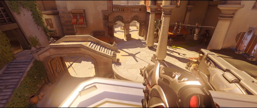 Nest defense Widowmaker sniping spot Temple of Anubis Overwatch.jpg