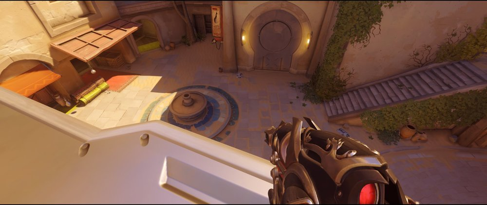 Nest to point defense Widowmaker sniping spot Temple of Anubis Overwatch.jpg