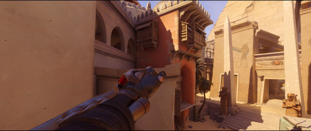 Sneaky defense Widowmaker sniping spot Temple of Anubis Overwatch.jpg