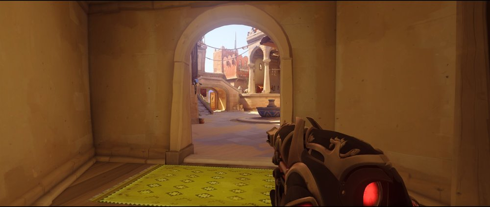 Closed room ground level defense Widowmaker sniping spot Temple of Anubis Overwatch.jpg