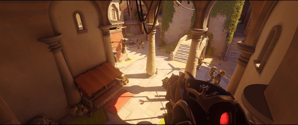 long high ground view point defense Widowmaker sniping spot Temple of Anubis Overwatch.jpg