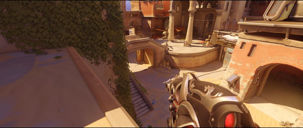 Balcony defense Widowmaker sniping spot Temple of Anubis Overwatch.jpg