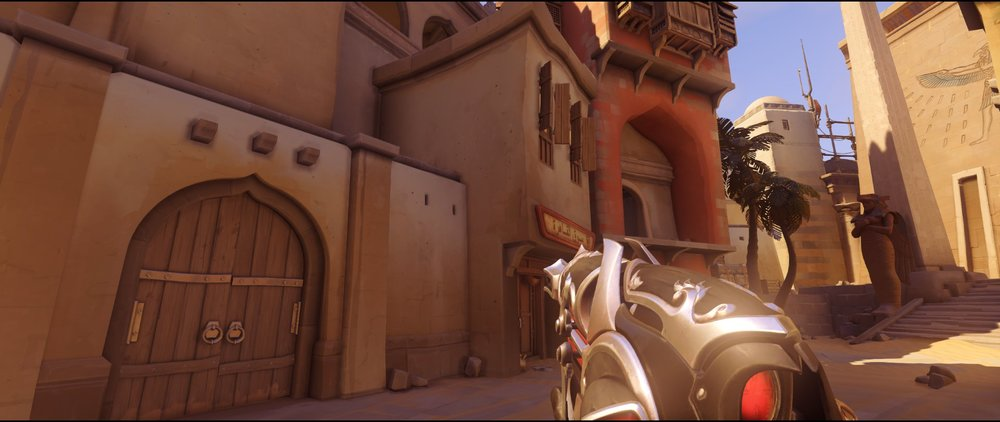 High ground left sneaky attack Widowmaker sniping spot Temple of Anubis Overwatch.jpg