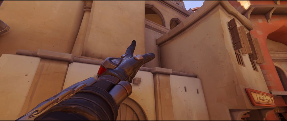 High ground left sneaky two attack Widowmaker sniping spot Temple of Anubis Overwatch.jpg
